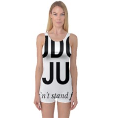 Judge judy wouldn t stand for this! One Piece Boyleg Swimsuit