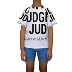 Judge judy wouldn t stand for this! Kids  Short Sleeve Swimwear