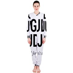 Judge judy wouldn t stand for this! OnePiece Jumpsuit (Ladies)