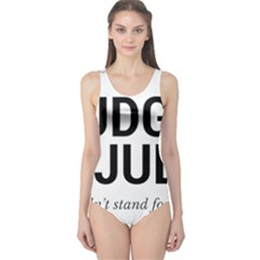 Judge Judy Wouldn t Stand For This! One Piece Swimsuit