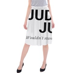 Judge judy wouldn t stand for this! Midi Beach Skirt