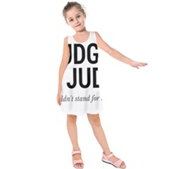 Judge judy wouldn t stand for this! Kids  Sleeveless Dress