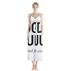 Judge Judy Wouldn t Stand For This! Button Up Chiffon Maxi Dress