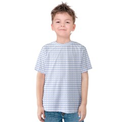 Alice Blue Hearts in an English Country Garden Kids  Cotton Tee