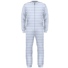 Alice Blue Hearts In An English Country Garden Onepiece Jumpsuit (men)