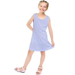 Alice Blue Hearts in an English Country Garden Kids  Tunic Dress