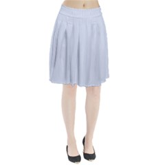 Alice Blue Pinstripe in an English Country Garden Pleated Skirt