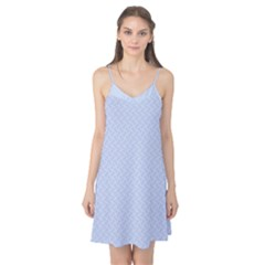 Alice Blue Mini Footpath in English Country Garden  Camis Nightgown