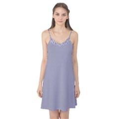 USA Flag Blue & White Wavy ZigZag Chevron Stripes Camis Nightgown