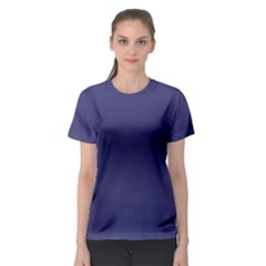 USA Flag Blue Royal Blue Deep Blue Women s Sport Mesh Tee