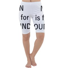 N Is For Newfoundland Cropped Leggings