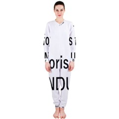 N Is For Newfoundland OnePiece Jumpsuit (Ladies)
