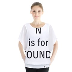 N Is For Newfoundland Blouse