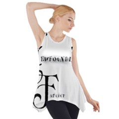 Newfie Fancier Side Drop Tank Tunic