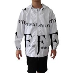 Newfie Fancier Hooded Wind Breaker (Kids)