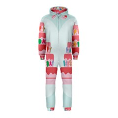 Birthday Cake Hooded Jumpsuit (Kids)