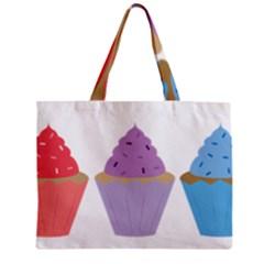 Cupcakes Zipper Mini Tote Bag
