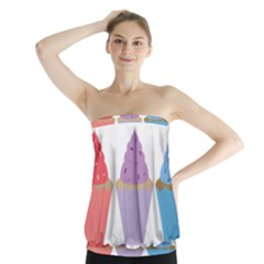 Cupcakes Strapless Top
