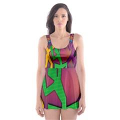 Dance Dance Dance Skater Dress Swimsuit