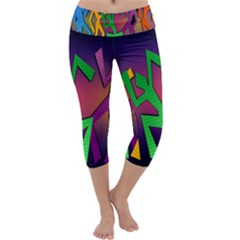 Dance Dance Dance Capri Yoga Leggings