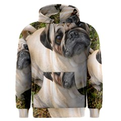 Pug Fawn Full Men s Pullover Hoodie