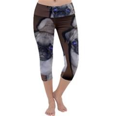 Pug Full 5 Capri Yoga Leggings