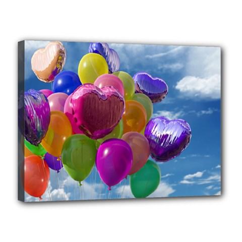 Balloons Canvas 16  x 12