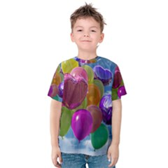Balloons Kids  Cotton Tee
