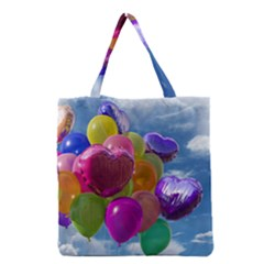 Balloons Grocery Tote Bag