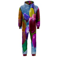 Balloons Hooded Jumpsuit (Men)