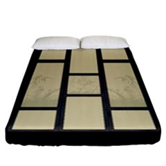 tatami - bamboo Fitted Sheet (California King Size)