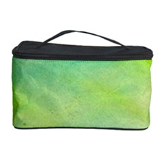 Abstract Yellow Green Oil Cosmetic Storage Case