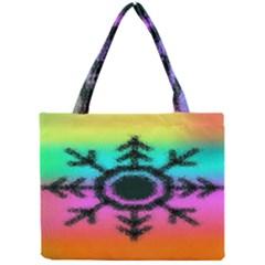 Vector Snowflake Mini Tote Bag