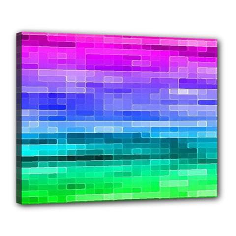 Pretty Color Canvas 20  X 16