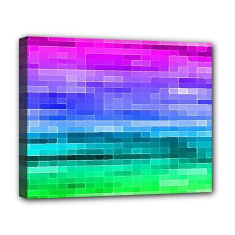 Pretty Color Deluxe Canvas 20  x 16