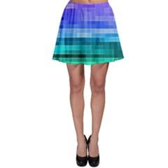 Pretty Color Skater Skirt