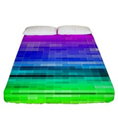 Pretty Color Fitted Sheet (california King Size)