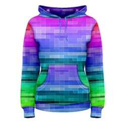 Pretty Color Women s Pullover Hoodie