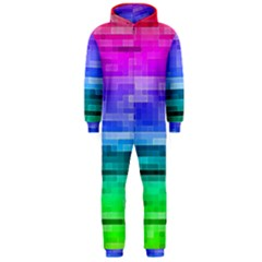 Pretty Color Hooded Jumpsuit (men)