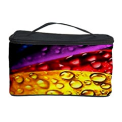 Abstract Flower Cosmetic Storage Case