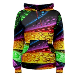 Abstract Flower Women s Pullover Hoodie
