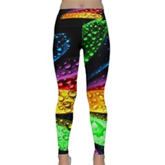 Abstract Flower Classic Yoga Leggings