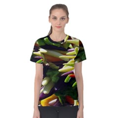 Bright Peppers Women s Cotton Tee