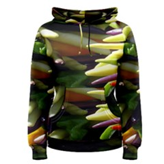 Bright Peppers Women s Pullover Hoodie
