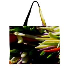 Bright Peppers Zipper Mini Tote Bag