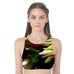 Bright Peppers Tank Bikini Top