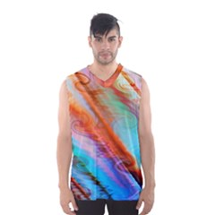 Cool Design Men s Basketball Tank Top