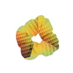 Blurred Color Pixels Velvet Scrunchie