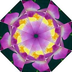 Pink Lotus Flower Hook Handle Umbrellas (small)
