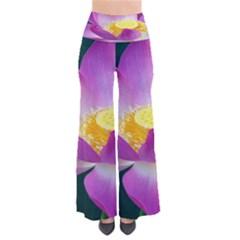 Pink Lotus Flower Pants